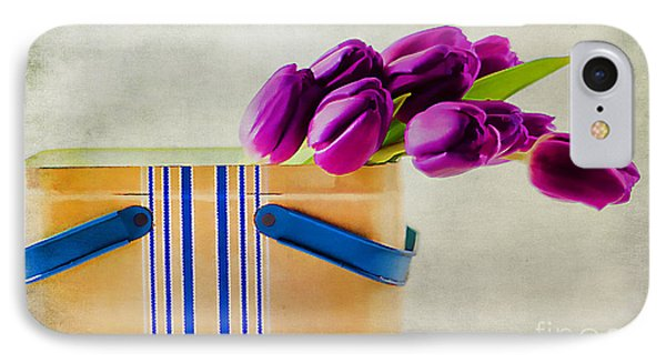 Tulips For Mom Phone Case by Darren Fisher