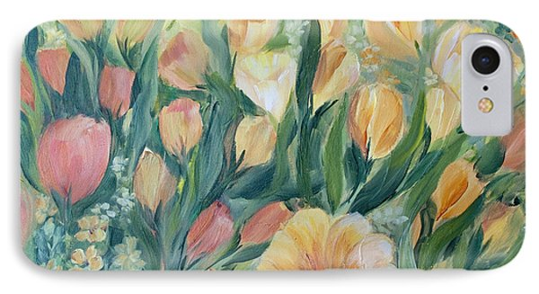 Tulips I IPhone Case by Joanne Smoley