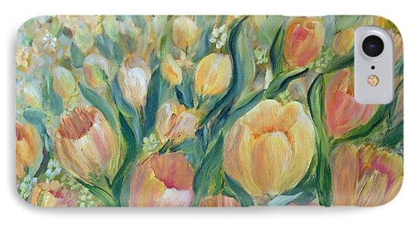Tulips II IPhone Case by Joanne Smoley