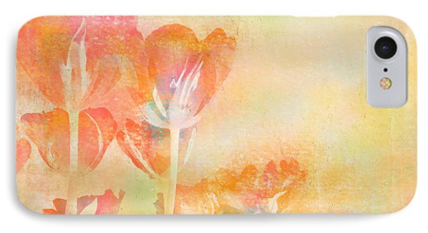 Tulips In Spring IPhone Case by Peggy Collins