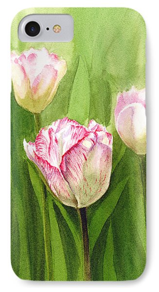 Tulips In The Fog IPhone Case by Irina Sztukowski