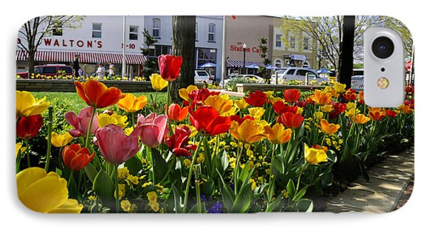 Tulips In The Spring IPhone Case