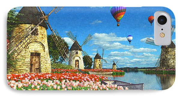 Tulips Of Amsterdam IPhone Case by Dominic Davison