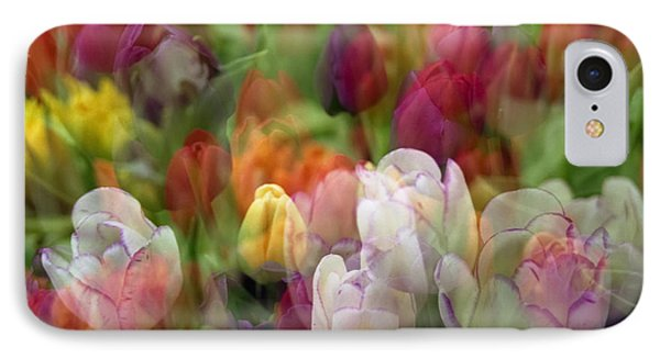 Tulips IPhone Case by Penny Lisowski