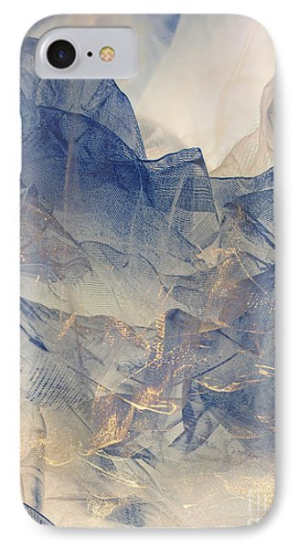 Tulle Mountains IPhone Case by Klara Acel