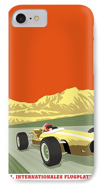 Tulln Langenlebarn Formula 2 1967 IPhone Case by Georgia Fowler