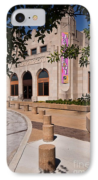 IPhone Case featuring the photograph Tulsa Union Depot by Lawrence Burry