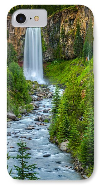 Tumalo Falls IPhone Case by Chris McKenna
