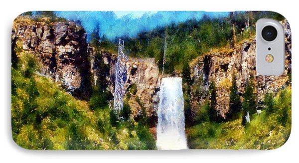 Tumalo Falls IPhone Case by Kaylee Mason