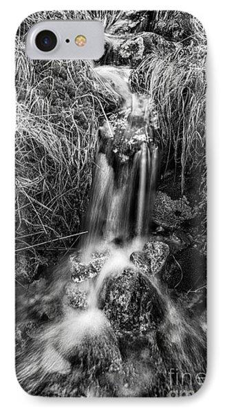 Tumbling Water Phone Case by John Farnan