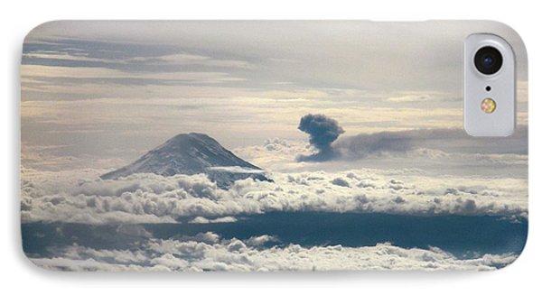 Tungurahua Volcano Erupting IPhone Case