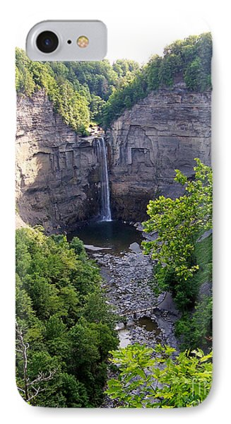 Tunkhannock Falls 2 IPhone Case by Tom Doud