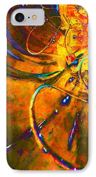 IPhone Case featuring the digital art Tunnel By Nico Bielow by Nico Bielow