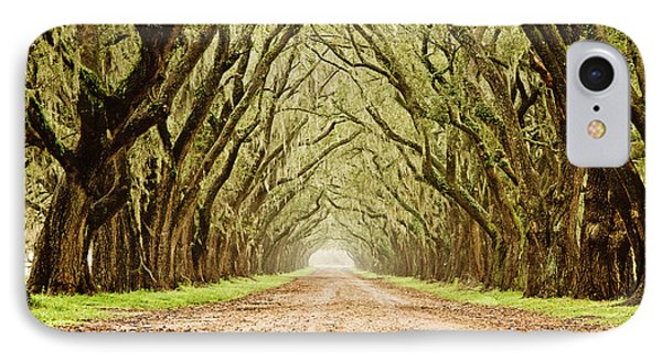 Tunnel In The Trees Phone Case by Scott Pellegrin