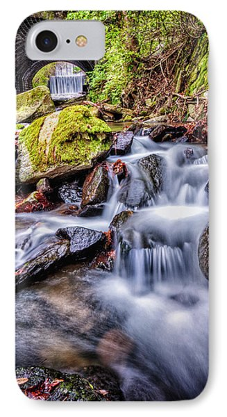 Tunnel Of Water IPhone Case by John Swartz