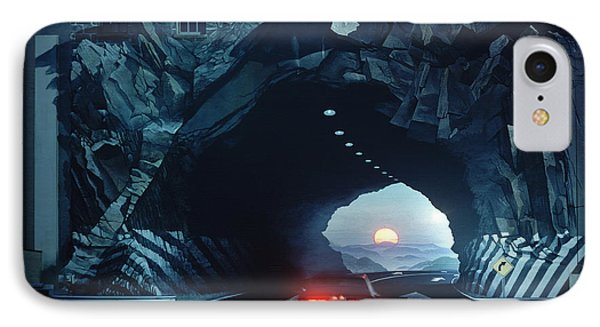 Tunnelvision IPhone Case by Blue Sky