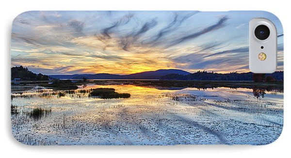 Tupper Lake Sunset Hdr 01 IPhone Case