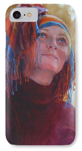 Turban 1 IPhone Case by Connie Schaertl