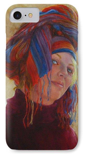 Turban 2 IPhone Case by Connie Schaertl