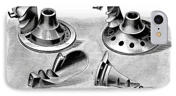 Turbine Parts IPhone Case