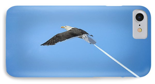 Turbo Seagull IPhone Case by Michael Mogensen