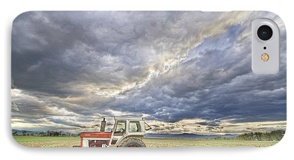 Turbo Tractor Country Evening Skies IPhone Case by James BO  Insogna