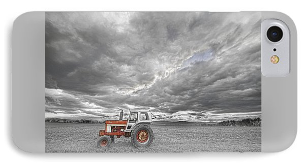 Turbo Tractor Superman Country Evening Skies IPhone Case by James BO  Insogna