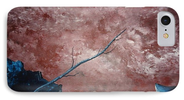 IPhone Case featuring the painting Turbulent Stick by Stuart Engel