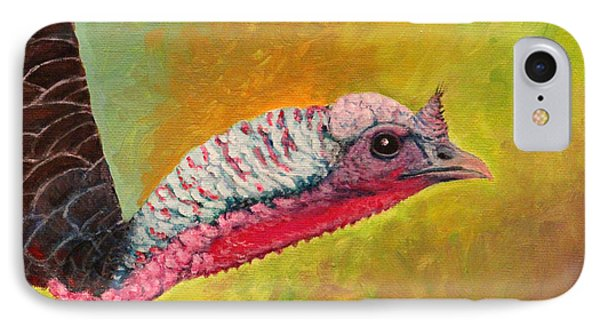 IPhone Case featuring the painting Turkey Aura by Janet Greer Sammons