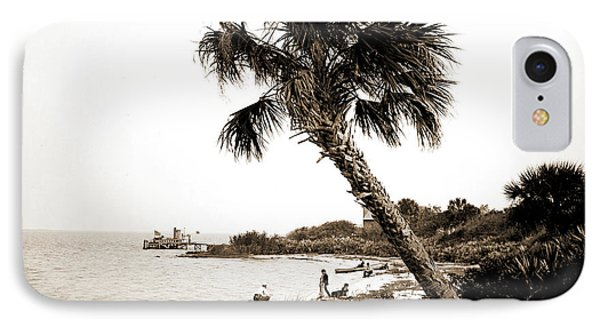 Turkey Creek Landing, Indian River, Jackson, William Henry IPhone Case by Litz Collection