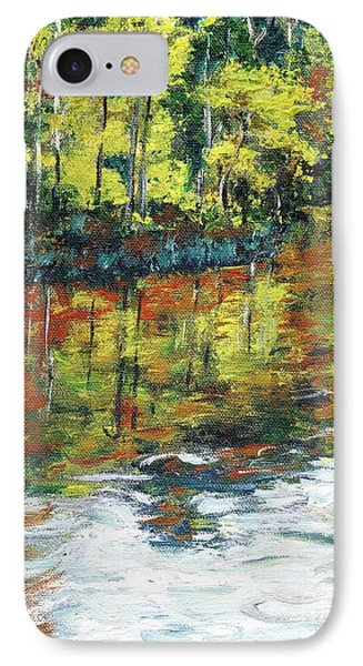 Turkey Creek Nature Trail IPhone Case by Randy Sprout