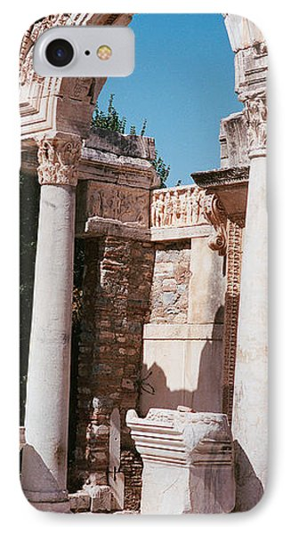 Turkey, Ephesus, Building Facade IPhone Case
