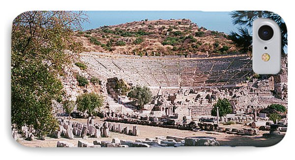 Turkey, Ephesus, Main Theater Ruins IPhone Case