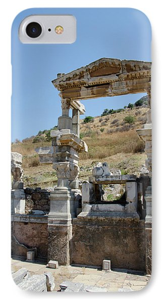 Turkey, Ephesus The Nymphaeum Traiani IPhone Case