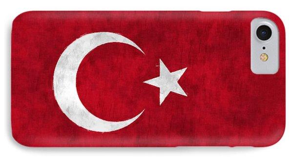 Turkey Flag IPhone Case