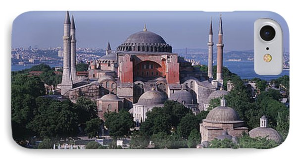 Turkey, Istanbul, Hagia Sophia IPhone Case by Panoramic Images