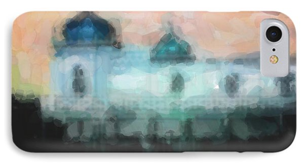 Turkish Bathhouse In Abstrac Watercolors IPhone Case by Tommytechno Sweden