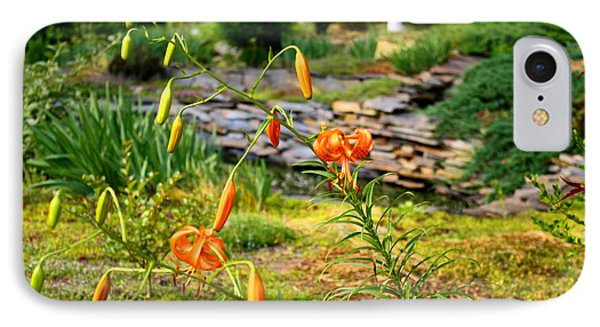 IPhone Case featuring the photograph Turk's Cap Lily by Kathryn Meyer