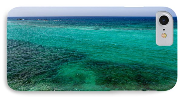 Turks Turquoise IPhone Case by Chad Dutson