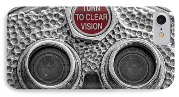 Turn To Clear Vision IPhone Case by Juli Scalzi