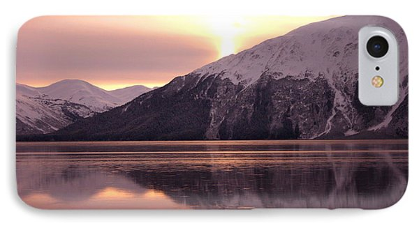 Turnagain Arm Morning Phone Case by Crystal Magee