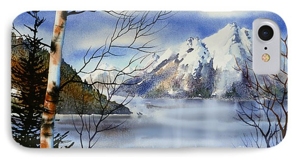 Turnagain View IPhone Case by Teresa Ascone