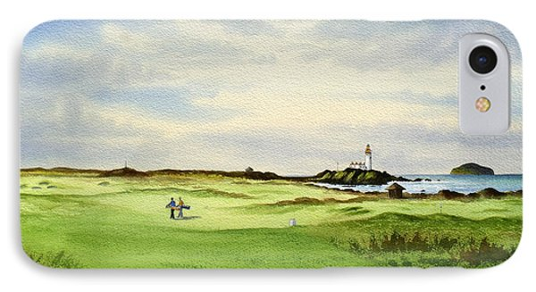 Turnberry Golf Course Scotland 12th Tee IPhone Case