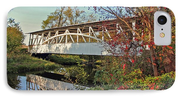IPhone Case featuring the photograph Turner's Covered Bridge by Suzanne Stout
