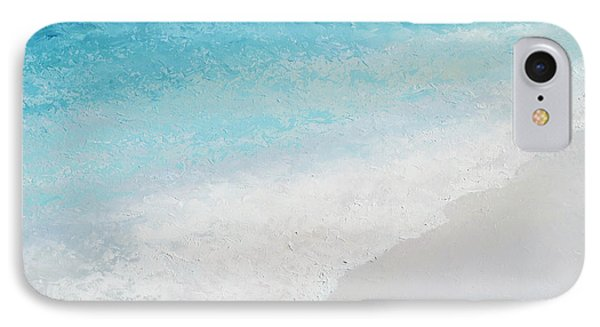 Turquoise Ocean 4 IPhone Case by Jan Matson