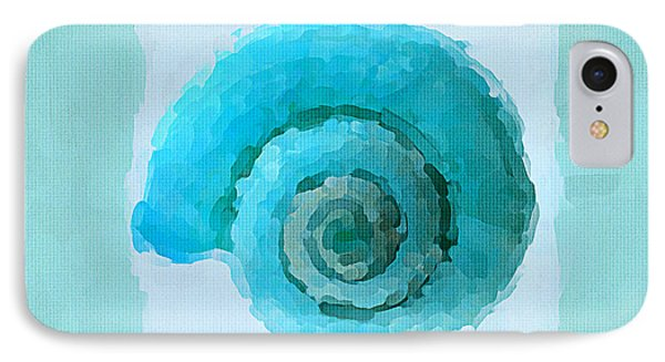 Turquoise Seashells IIi IPhone Case by Lourry Legarde