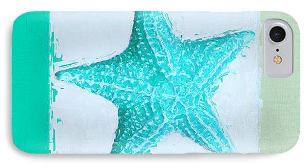 Turquoise Seashells Xi IPhone Case