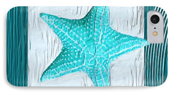 Turquoise Seashells Xviii IPhone Case