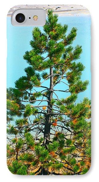Turquoise Tree IPhone Case
