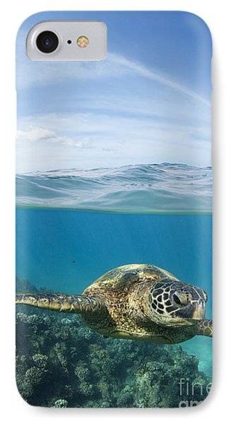 Turtle At Black Rock IPhone Case